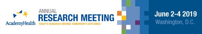 AcademyHealth Annual Research Meeting 2019 logo